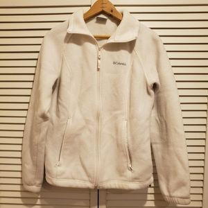 White Columbia Fleece